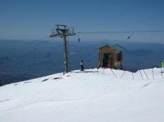 Skiing facilities Mt Etna 2013