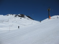 Skiing Mt Etna Spring 2013
