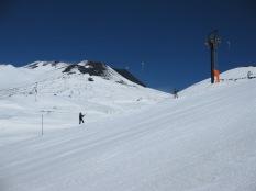 Skiing Mt Etna Spring 2013