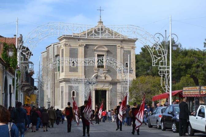 The Festival of the Patron Saint of San Gregorio di Catania