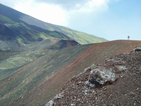 Etna craters Sapienza side