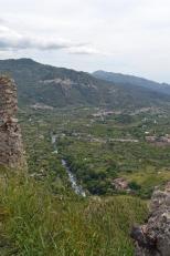 view fm castle of river Francavilla