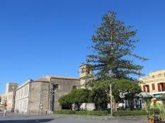 Aci Castello town square