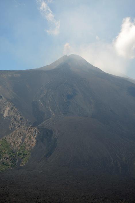 Etna Mt Zocc - lava flow