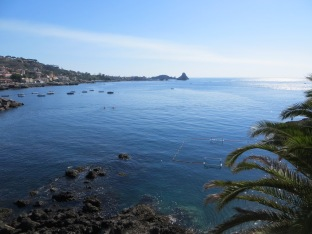 Sea at Aci Castello